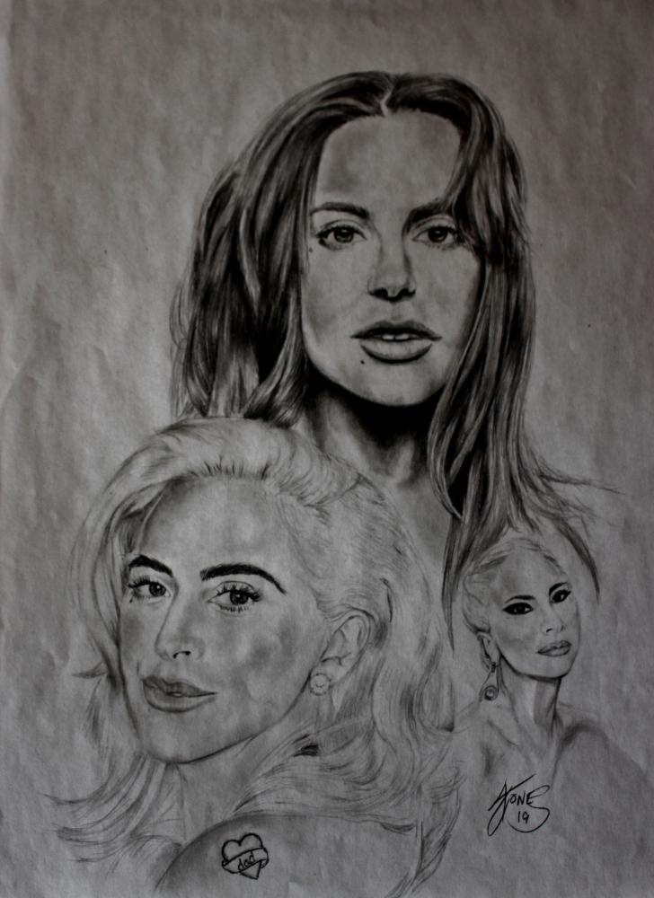 Lady Gaga por aljentart